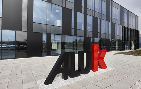 ALUK'S UK OFFICE AWARDED 'BEST WORKPLACE DESIGN OF THE YEAR'